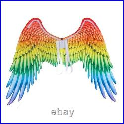 20XLarge Adult Kids Colorful Angel Wings Fairy Feather Fancy Dress