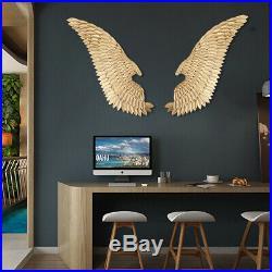 50 Metal Angel Wings Wall Art Distressed Vintage Rustic Hang Home Decor Gift