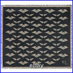 ALEXANDER McQUEEN A/W 2010 Angels & Demons Winged Skull Square Scarf Large