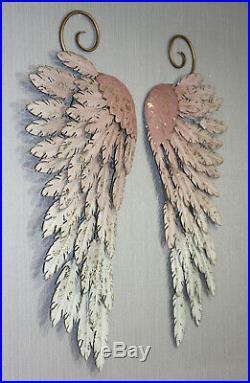 ARTHOUSE Large Metal Angel Wings Wall Art