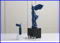 Angel Wings Crafts 16cm Black Base Resin Furnishings Portrait Home Decorations