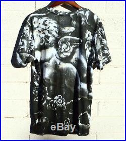 Antique Gorham Cherub Angel Shirt Putti Top Wings Cupid T-Shirt Dress Club Large