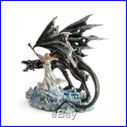 BLACK DRAGON with Wizard Adult Feather Large Wings Angel Halloween Costume