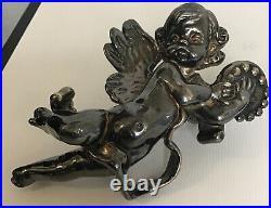 Brooch Wing Angel Sterling Silver 925 Large Beautiful Vintage