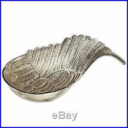 CBK Aluminum Large Silver Angel Wing Bowl 160894