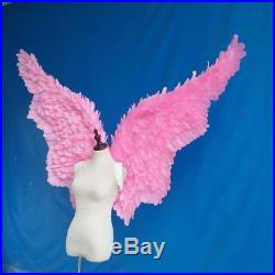 Cosplay Large Pink Feather Angel Wings