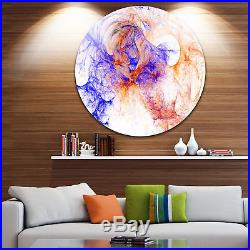 Designart'Wings of Angels Blue' Abstract Digital Art Large Blue