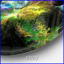 Designart'Wings of Angels Yellow' Abstract Digital Art Extra Large
