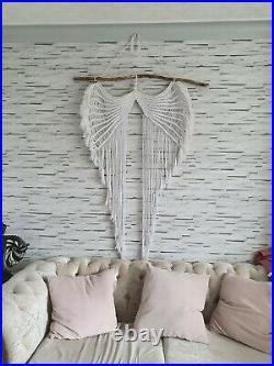 Extra large macrame wall hanging