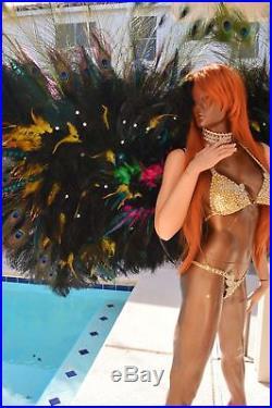 Feathers wings samba carnaval/WFBB WINGS /DANCE/ANGEL WINGS/DIVAS WINGS By Laura