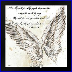 Framed Art On Angels Wings II Tre Sorelle Studios withFrame Size & Styles