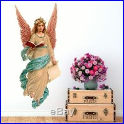 Girl Angel Wing Full Color Wall Decal Sticker K-224 FRST Size 40x80