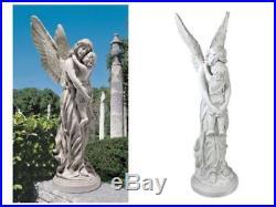 Guardian Angel Statue Large Wings Garden Decor Outdoor Sculpture Lawn Ornament