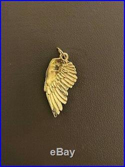 Helen Ficalora Large Angel Wing Charm