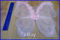 Joblot 70 Adult Child Large Pink Wings Fairy Angel Fancy Dress Wholesale Resale