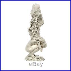 Large 30.5 Elegant Emotional Angel Statue Garden Winged Sculpture
