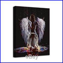 Large Abstract Sexy Naked Angel Wing Canvas Painting Wall Art Beauty Decorative
