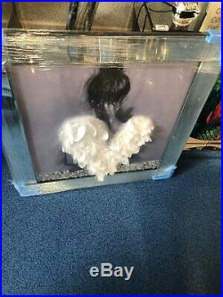 Large Angel Wing Picture. New