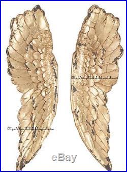 Large Gold Angel Wings, Victoria's Secret Angel Wings, Wall Hanging Wings