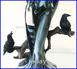 Large Raven Fey Transformation Fairy Shadow Ghastly Angelic Wings 24H Figurine