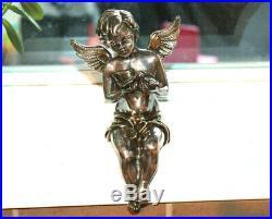 Large SAM PHILIPE Sterling Silver 925 Electroform Angel Cherub Dove Wings 7.5