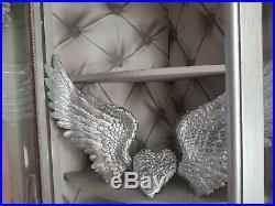 Large angel wings wall art