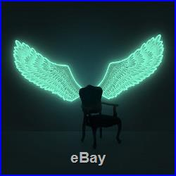 Luminous Angel-Wings (glow-in-the-dark wings wall-sticker)