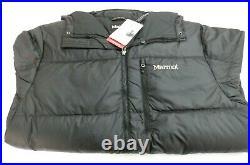 Marmot Guides Down Hoody MENS Jacket 700 Fill Black 73060'