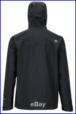 Marmot Knife Edge Men's Rain Jacket LARGE Size Black BNWT 31610001L