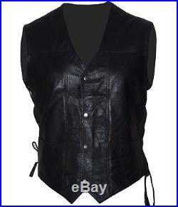 Mens New Halloween Walking Dead Governor Daryl Dixon Angel Wings Vest Jacket