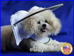 Muffin's Halo Guide for Blind Dogs White Angel Wings (Large)