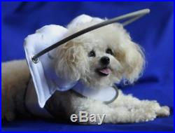Muffin's Halo Guide for Blind Dogs White Angel Wings Large