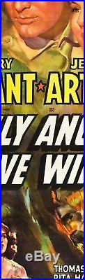 ONLY ANGELS HAVE WINGS 1939 Airplane = VERY LARGE POSTER 2Sizes = 6or7 Feet Long