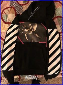 Off White c/o Virgil Abloh Caravaggio Angel Wing hoodie Black Size US Large
