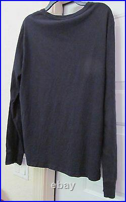 POLO RALPH LAUREN PRL Chariot of Fire Angel Wing L/S Knit Shirt Blue Mens L RARE