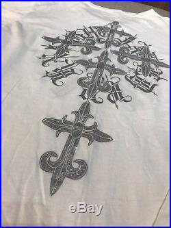 Rare Hells Jaded By Knight Lost Angels Crosses Crystal Wings 81 Shirt