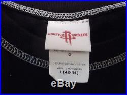 Rare Houston Rockets Tee Shirt 1967 Angel Wings Black/White (18026)