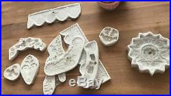 Resin, soap Molds Polymer Clay Molds Cake Decorating Tool large Angel Wings mold