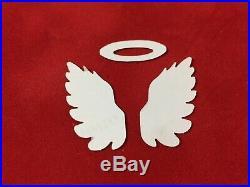 SUPER RARE eK success ANGEL WINGS Large Punch NEW light gray