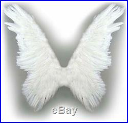 Sacasusa Tm Super Large Feather Butterfly Fairy Angel Wings 2 Color Black Or Wh