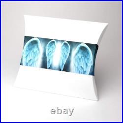 Urns UK Serenity Water Burial Urn-Angel Wings, White, Large/Adult