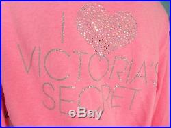 Victoria's Secret Women's LARGE Hoodie + Sweatpants PINK ANGEL WINGS SUPERMODEL