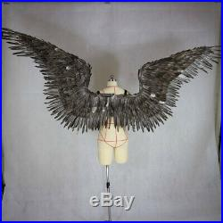 Victoria's secret angel feather wings large adult model runway show runway show