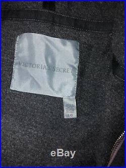 Victorias Secret Rhinestone Angel Wing Hoody Silver Gold Purple Dyed Large