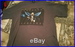 Vintage Kurt Cobain shirt rare GIANT Nirvana grunge Angel Wings