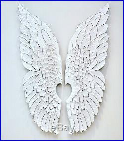 White Angel Wings, Large Wall Hanging