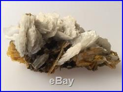 Wulfenite & Mimetite Large specimen, could be Barite or angel's wing calcite