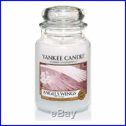 Yankee Candle Large Jar Candle, Angel's Wings Angels Wings
